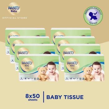 Paseo Baby Tisu Bayi Travel Pack