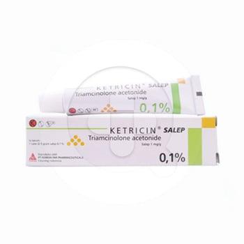 Ketricin salep adalah obat untuk membantu mengobati luka akut dan kronis pada lapisan mukosa bibir