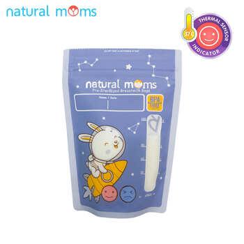 Natural Moms Kantong ASI 120 ml - Thermal Sensor - Rocket  harga terbaik 47000