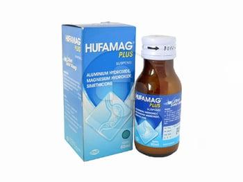 Hufamag Plus suspensi adalah obat untuk mengatasi gejala karena kelebihan asam lambung