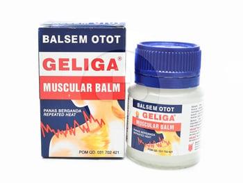 Geliga balsem otot 20 g adalah obat yang berguna untuk meredakan nyeri sendi dan otot