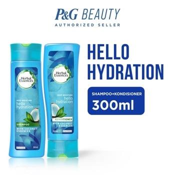 Herbal Essences Hello Hydration - Paket Shampoo + Conditioner 300 ml harga terbaik 69800