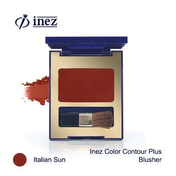 Inez Color Contour Plus Blusher - Italian Sun harga terbaik
