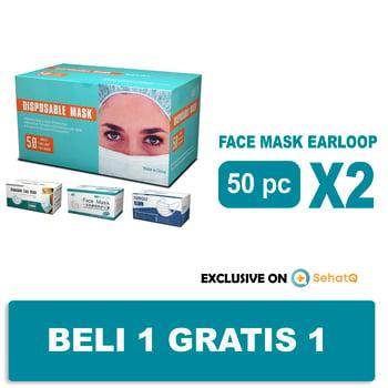 Gautama Indah Perkasa Disposable Mask 3ply  harga terbaik