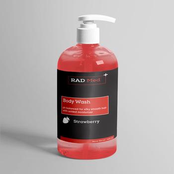 Rad Med Strawberry Body Wash 500 ml harga terbaik 145000