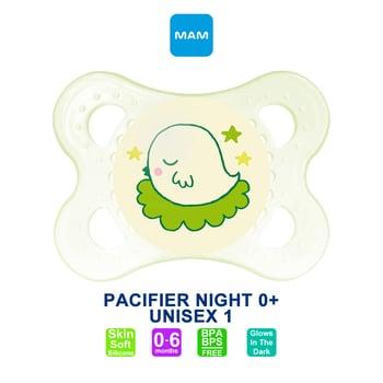 MAM Pacifier PCF Night 0+ Months - Dot Bayi - Unisex 1 harga terbaik 59162