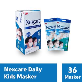 3M Nexcare Kids Mask 3 Ply (1 Box @ 36 Pcs)