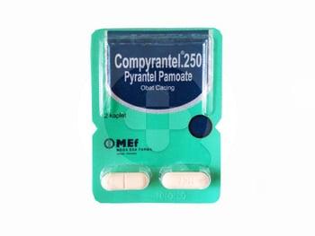 Compyrantel Tablet 250 mg  harga terbaik 5003