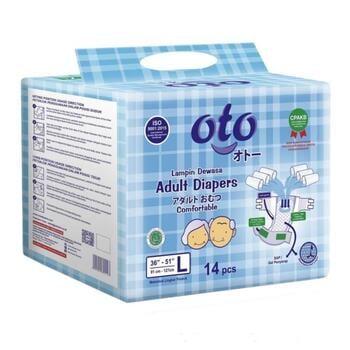 OTO Adult Diapers / Popok Dewasa Model Perekat - L  harga terbaik 82000