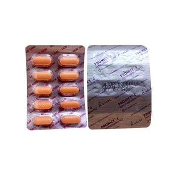 Pronicy Tablet adalah obat untuk manifestasi alergi di kulit atau gatal-gatal dan pembengkakan.