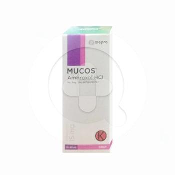 Mucos sirup adalah obat untuk mengencerkan dahak dan mengatasi gangguan saluran pernapasan