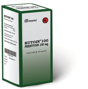 Kutoin kapsul adalah obat untuk mencegah dan mengatasi kejang terutama akibat epilepsi