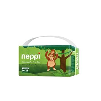 Neppi Premium Baby Diaper Pants M 28 harga terbaik 69000