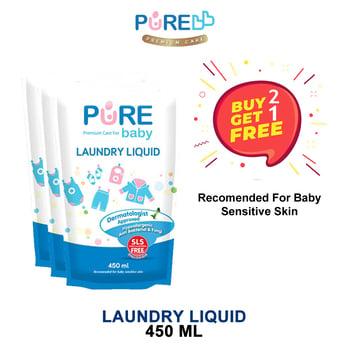 Pure Baby Laundry Liquid 450 ml - Refill  harga terbaik 53121