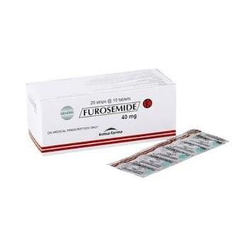 Furosemide Kimia Farma tablet adalah obat untuk mengatasi pembengkakan pada tubuh