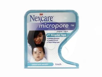 Nexcare 3M Micropore Paper Tape Hypoallergenic 1 In x 10 yds  harga terbaik 23519