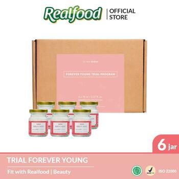 Realfood Trial Program Forever Young Semi Concentrated Bird's Nest dengan Kolagen harga terbaik