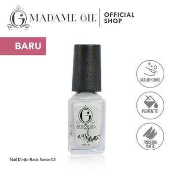Madame Gie Nail Matte 02 Erase harga terbaik 7200