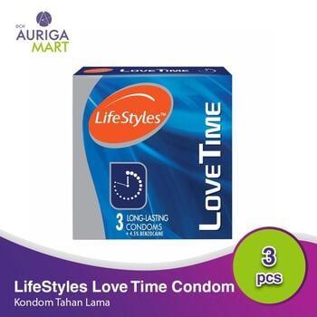 LifeStyles Love Time - Long Lasting Kondom  harga terbaik 17900
