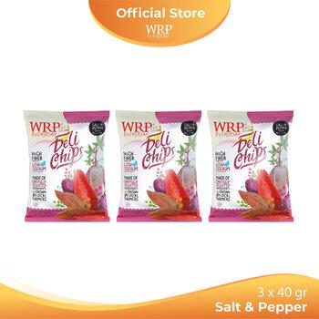 WRP Delichips Salt & Pepper 3 x 40 g