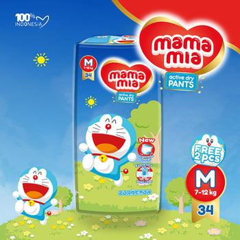Mamamia Baby Diapers Pants M34 harga terbaik 51900