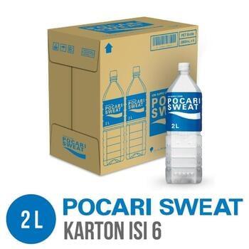 Pocari Sweat PET 2 Liter - Karton Isi 6 Botol