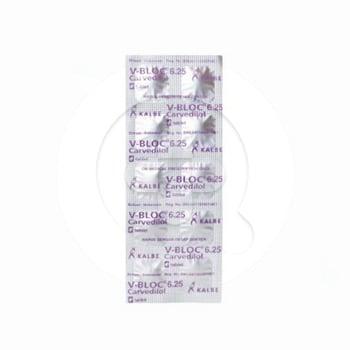 V-Bloc Tablet 6,25 mg (1 Strip @ 10 Tablet)