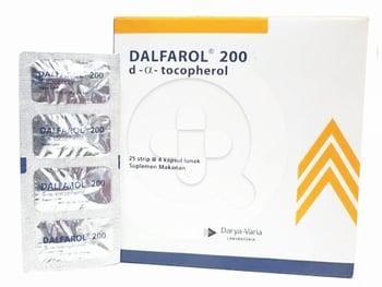 Dalfarol kapsul digunakan untuk terapi pendukung pada penyakit kardiovaskuler.