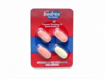 Bodrex Flu Dan Batuk Kering Kaplet  harga terbaik 2652