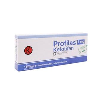 Profilas Tablet adalah obat untuk pencegahan asma bronkial dan mengobati gejala alergi.