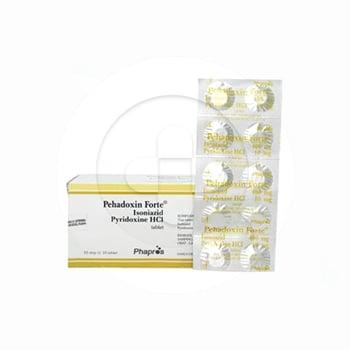 Pehadoxin Forte digunakan untuk pencegahan dan pengobatan tuberkulosa