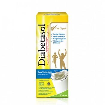 Diabetasol Susu UHT Rasa Vanilla 200 ml harga terbaik