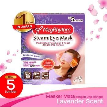 Megrhythm Steam Eye Mask Lavender  harga terbaik 74600