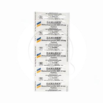 Damaben tablet adalah obat yang digunakan untuk meredakan mual dan muntah