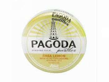 Pagoda Pastiles Lemon 20 g harga terbaik 6365