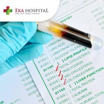 Paket Check Up Hypercholesterol di Eka Hospital, BSD, Cibubur, Pekanbaru, Bekasi