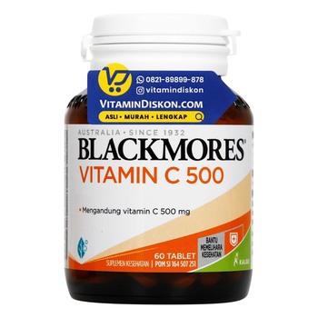 Harga Vitamin C Blackmores Vitamin C 500mg