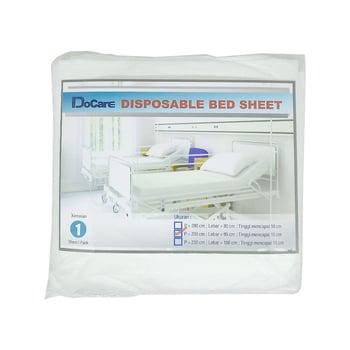 DoCare Disposable Bed Sheet Ukuran 95  harga terbaik 67000