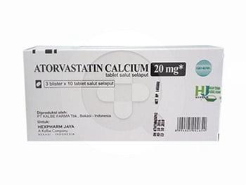 Atorvastatin Hexpharm Tablet 20 mg  harga terbaik 30024