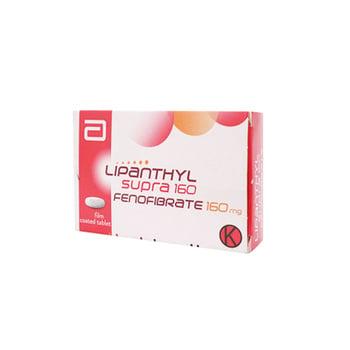 Lipanthyl Supra Tablet adalah obat untuk mengatasi: kadar kolesterol tinggi (hiperkolesterolemia).