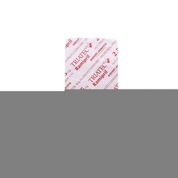 Triatec tablet adalah obat untuk mengobati hipertensi, gagal jantung, dan serangan jantung.