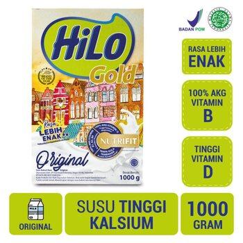 HiLo Gold Original 1000 g harga terbaik 154000