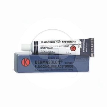 Dermasolon krim digunakan untuk mengurangi gatal dan peradangan kulit