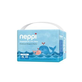 Neppi Premium Baby Diaper Pants XL 22 harga terbaik 69000