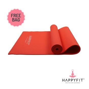 Happyfit Yogamat PVC Polos 6 mm Red + Tas harga terbaik 150000