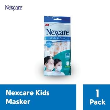 3M Nexcare Kids Mask 3 Ply  harga terbaik 8500