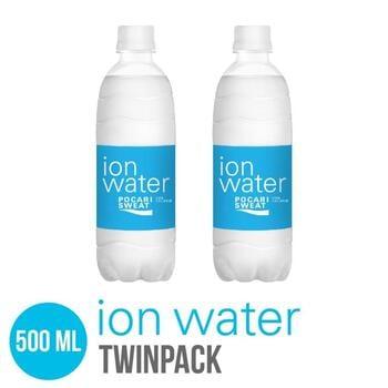 Ion Water PET 500 ml - Twinpack harga terbaik 14000