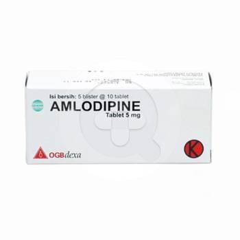 Amlodipine OGB Dexa Medica Tablet 5 mg  harga terbaik 61051