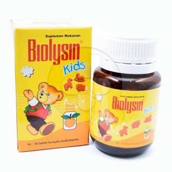 Biolysin Kids Jeruk Tablet  harga terbaik 13010
