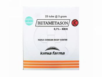 Betametason Kimia Farma Krim 5 g | Beli Online Toko SehatQ, Gratis Ongkir
